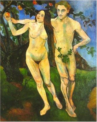 Suzanne Valadon, Adam and Eve (Self-Portrait with André Utter), 1909,